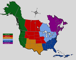 Midwest America Map by The Map Of North America If Pokemon Were Real Rebrn Com