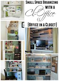 kitchen office organization ideas get organized in a small space with a cloffice office closet