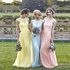 aliexpress com buy honey qiao bridesmaid dresses blush peach