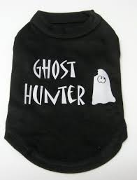 Halloween T Shirts For Dogs by Personalized Halloween Dog Harness Costume Pumpkin Ghost Hunter