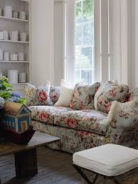 Floral Living Room Furniture Andrew Martin Fabric In Duck Egg Available At Http Www