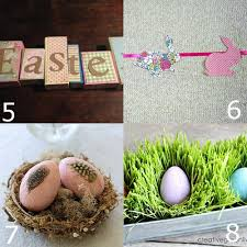 Diy Spring Easter Decorations by 32 Diy Easter Decorations The Gracious Wife
