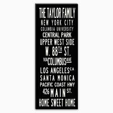 wall designs personalized canvas wall custom plaques and