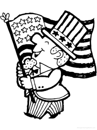 4th of july flag coloring pages getcoloringpages com