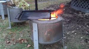 Washing Machine Firepit Washing Machine Drum Swing Away Grills Higleymetals