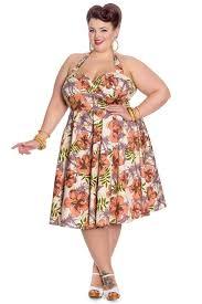 1950s fashion dresses floral tropical tiki hawaiian