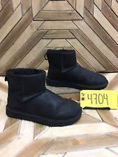 s ugg australia mini leather boots ugg australia pendleton mini black 1007505 s boots
