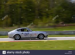 fred seitz races his 1970 datsun 240z at the svra vintage gt stock