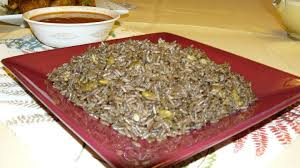 cuisine hiopienne diri ak djondjon rice with haitian mushrooms haiti chery