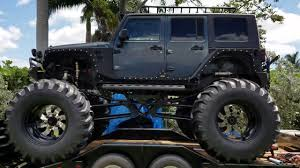 monster jeep jk 2007 jeep wrangler monster truck lifted off road youtube