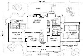 house plans with 5 bedrooms southern country 5 bedrooms 6992 5 bedrooms and 2 baths the