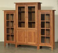 Solid Cherry Wood Bookcase Solid Cherry Wood Furniture Is It Real Vermont Woods Studios