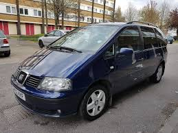 seat alhambra 1 9 tdi 115 6 speed manual full service history 2