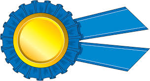 blue and yellow ribbon prize ribbon clipart 101 clip