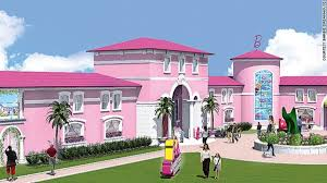 barbie dreamhouse feminists protest barbie dreamhouse opening in berlin cnn travel