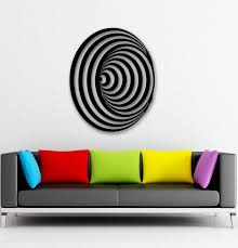 embellish your home decor with the optical art