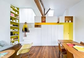 How To Decorate Small Home How To Decorate A Small House With Color And A Multi Function Wall