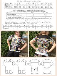 matching patterns rad patterns pdf sewing patterns scrub top