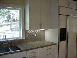 Kitchen With Stainless Steel Backsplash Mid Century Modern Backsplash U2014 Smith Design Stainless Steel
