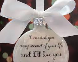 infant loss christmas ornaments baby memorial ornament in memory christmas ornament