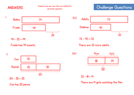 bar modelling worksheet comparison model questions by wrmaths