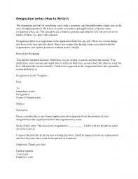 resignation letter format best sample what to include in a