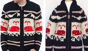 canada sweater the canadian company granted clothing says that retailer