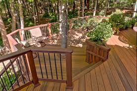 pressure treated wood deck designs google search deck decor