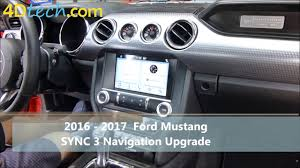 mustang navigation add factory navigation to sync 3 2016 2017 ford mustang