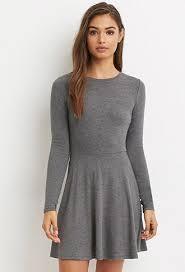 heathered skater dress forever 21 2000163566 teen fashion 4