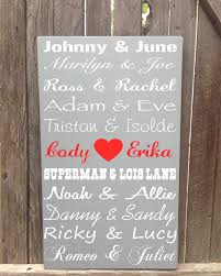 5 year anniversary gifts for personalize couples wood sign 5th five year anniversary
