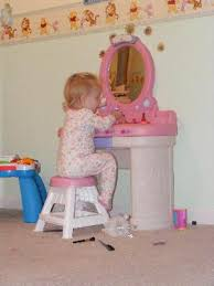 Toy Vanities Step2 Fantasy Vanity With Shatterproof Plastic Mirror And Sturdy