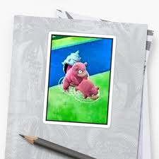 Slow Poke Meme - pokemon go bang slowbro slowpoke meme stickers by omni solaris