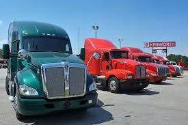 kw semi trucks for sale november truck orders rise production continues to slide trucks com