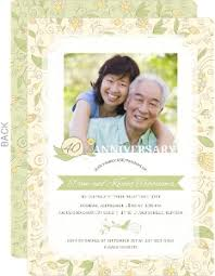 custom anniversary invitations