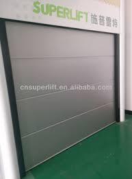 Overhead Door Panels Soundproof Sectional Overhead Garage Door Panel With Pu Foam