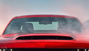 dodge dodge demon will boast largest functional hood scoop on a