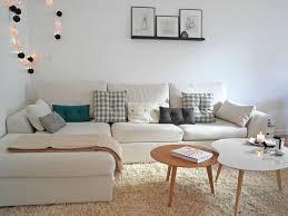 canapé cosy un salon cosy avec canapé d angle decor salons
