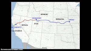 Westward Expansion Map Pull Factors In Westward Expansion During The Civil War Era Youtube