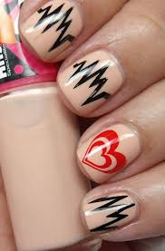 26 best valentine u0027s day love heart beat nail art images on