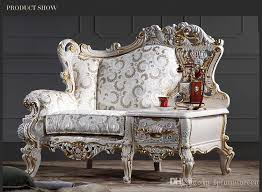 2018 baroque living room sofa furniture european classic one