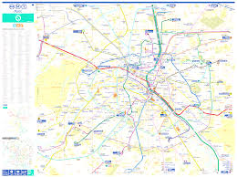 Mexico City Metro Map Pdf by Paris Bus Route Maps With City Street Plan In Pdf Or Image File