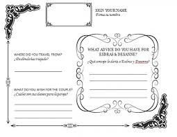 wedding registry book guest book diy wedding guestbook templates my diy guestbook page posted 6