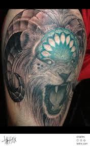 33 best leo n aries tattoos images on pinterest aries tattoos
