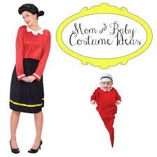Popeye Olive Oyl Halloween Costumes 7 Ideas Mom Baby Halloween Costumes Rookie Moms