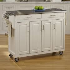 steel top kitchen island august grove regiene kitchen island with stainless steel top