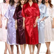 2017 women u0027s satin robe long dressing gown women u0027s satin kimono