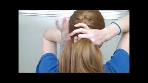 how to i french plait my own side hair how to french braid your own hair in one part youtube