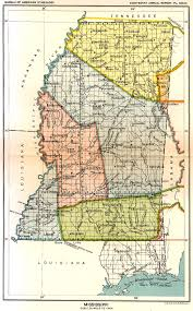 Mississippi Map Usa by Indian Land Cessions Maps And Treaties In The American Southeast