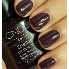 cnd creative nail design shellac power polish fedora cnd